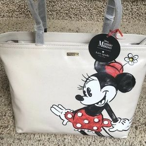 NWT Kate Spade  Minnie Mouse Francis Tote